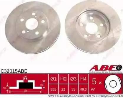 ABE C32015ABE - Piduriketas multiparts.ee