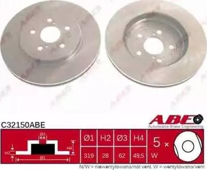 ABE C32150ABE - Piduriketas multiparts.ee