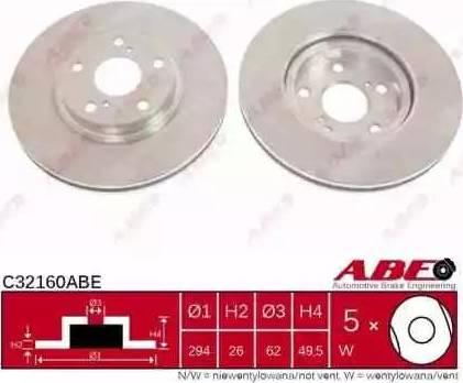 ABE C32160ABE - Piduriketas multiparts.ee