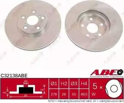 ABE C32138ABE - Piduriketas multiparts.ee