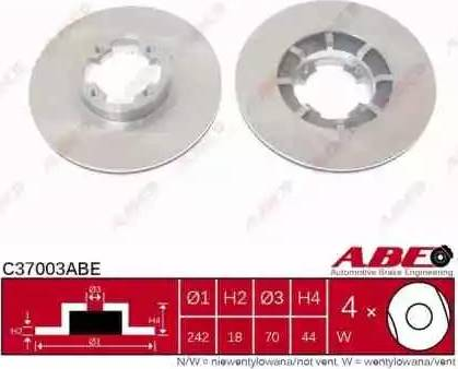 ABE C37003ABE - Piduriketas multiparts.ee