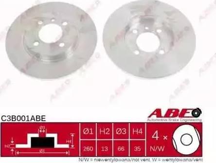 ABE C3B001ABE - Piduriketas multiparts.ee