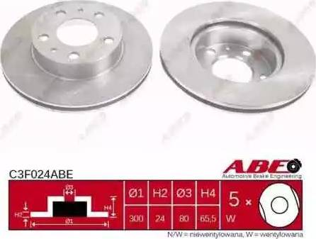 ABE C3F024ABE - Piduriketas multiparts.ee