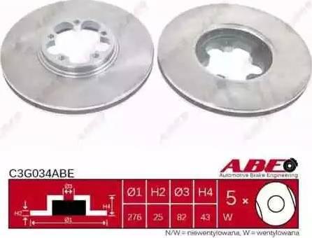 ABE C3G034ABE - Piduriketas multiparts.ee