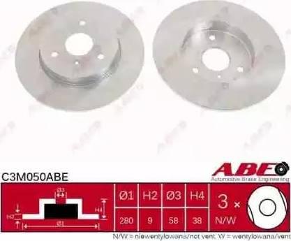 ABE C3M050ABE - Piduriketas multiparts.ee