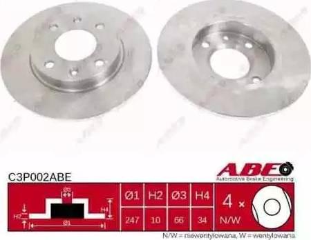 ABE C3P002ABE - Piduriketas multiparts.ee