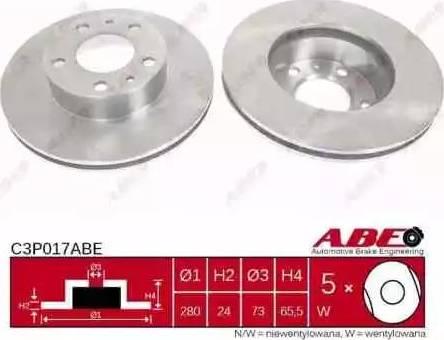 ABE C3P017ABE - Piduriketas multiparts.ee