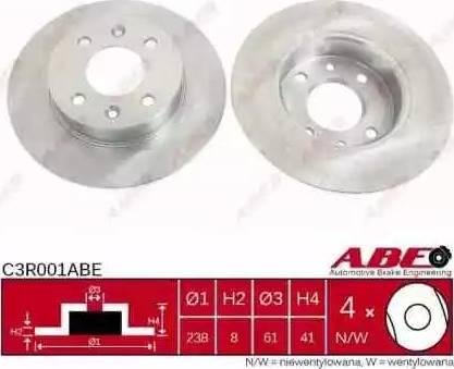 ABE C3R001ABE - Piduriketas multiparts.ee
