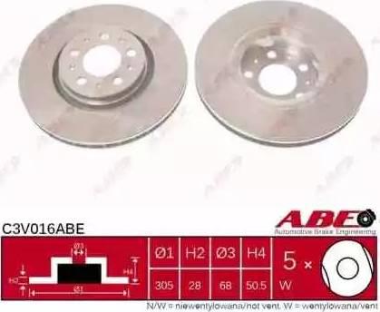 ABE C3V016ABE - Piduriketas multiparts.ee