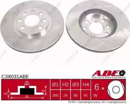 ABE C3X031ABE - Piduriketas multiparts.ee