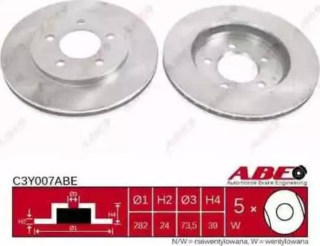 ABE C3Y007ABE - Piduriketas multiparts.ee
