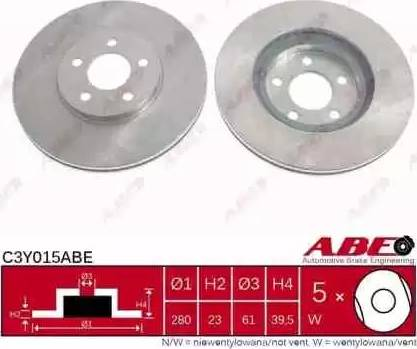 ABE C3Y015ABE - Piduriketas multiparts.ee