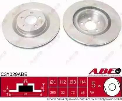 ABE C3Y029ABE - Piduriketas multiparts.ee