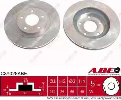 ABE C3Y028ABE - Piduriketas multiparts.ee