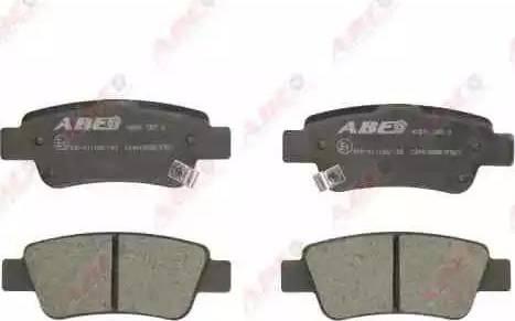 ABE C24015ABE - Piduriklotsi komplekt,ketaspidur multiparts.ee