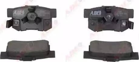 ABE C24020ABE - Piduriklotsi komplekt,ketaspidur multiparts.ee
