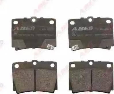 ABE C25011ABE - Piduriklotsi komplekt,ketaspidur multiparts.ee