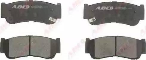 ABE C20513ABE - Piduriklotsi komplekt,ketaspidur multiparts.ee