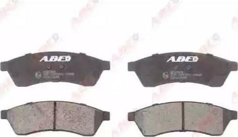 ABE C20013ABE - Piduriklotsi komplekt,ketaspidur multiparts.ee