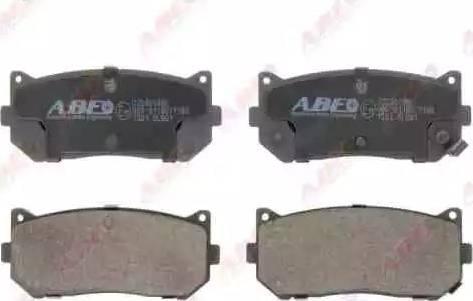 ABE C20301ABE - Piduriklotsi komplekt,ketaspidur multiparts.ee