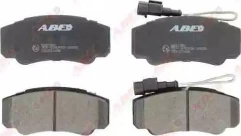 ABE C21051ABE - Piduriklotsi komplekt,ketaspidur multiparts.ee
