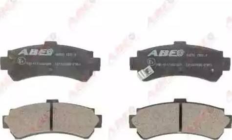 ABE C21037ABE - Piduriklotsi komplekt,ketaspidur multiparts.ee