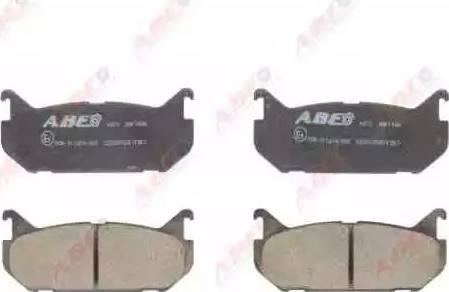 ABE C23007ABE - Piduriklotsi komplekt,ketaspidur multiparts.ee