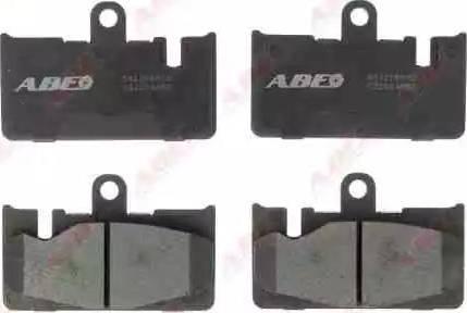 ABE C22024ABE - Piduriklotsi komplekt,ketaspidur multiparts.ee