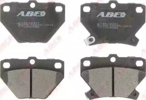 ABE C22020ABE - Piduriklotsi komplekt,ketaspidur multiparts.ee