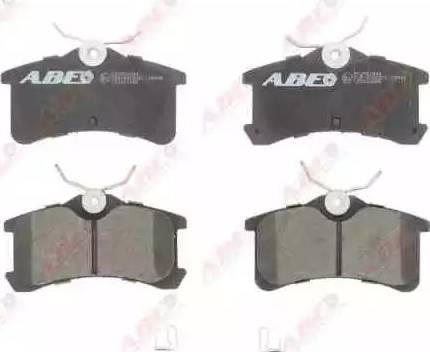ABE C22021ABE - Piduriklotsi komplekt,ketaspidur multiparts.ee