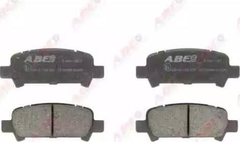 ABE C27002ABE - Piduriklotsi komplekt,ketaspidur multiparts.ee