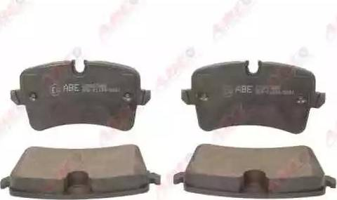 ABE C2A007ABE - Piduriklotsi komplekt,ketaspidur multiparts.ee