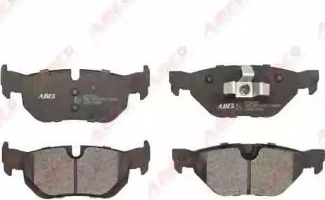 ABE C2B017ABE - Piduriklotsi komplekt,ketaspidur multiparts.ee
