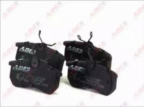 ABE C2G007ABE - Piduriklotsi komplekt,ketaspidur multiparts.ee