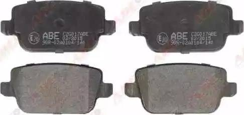 ABE C2G017ABE - Piduriklotsi komplekt,ketaspidur multiparts.ee