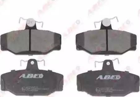 ABE C2V003ABE - Piduriklotsi komplekt,ketaspidur multiparts.ee