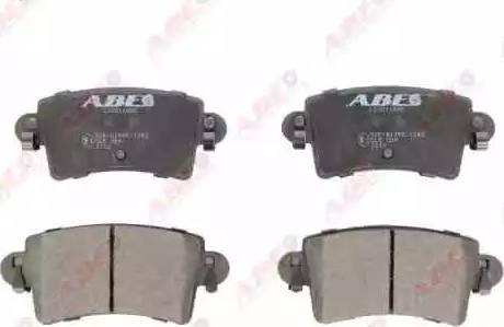 ABE C2X011ABE - Piduriklotsi komplekt,ketaspidur multiparts.ee