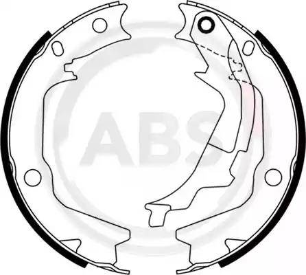 A.B.S. 9198 - Piduriklotside komplekt,seisupidur multiparts.ee