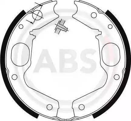 A.B.S. 9115 - Piduriklotside komplekt,seisupidur multiparts.ee