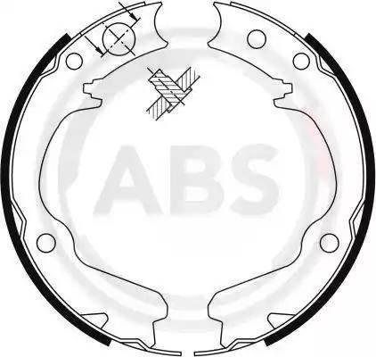 A.B.S. 9116 - Piduriklotside komplekt,seisupidur multiparts.ee