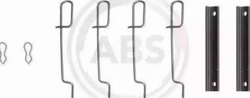 A.B.S. 0992Q - Lisakomplekt, ketaspiduriklotsid multiparts.ee