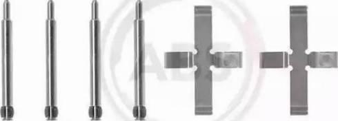 A.B.S. 0980Q - Lisakomplekt, ketaspiduriklotsid multiparts.ee