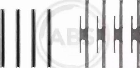 A.B.S. 0975Q - Lisakomplekt, ketaspiduriklotsid multiparts.ee