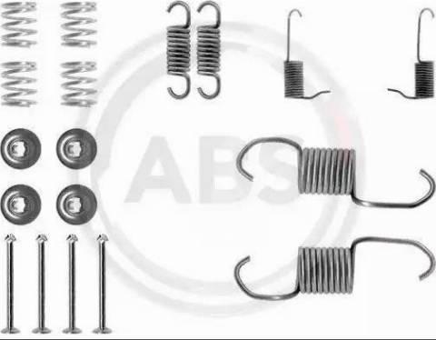 A.B.S. 0696Q - Lisakomplekt, Piduriklotsid multiparts.ee