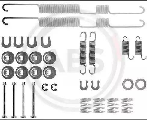 A.B.S. 0698Q - Lisakomplekt, Piduriklotsid multiparts.ee