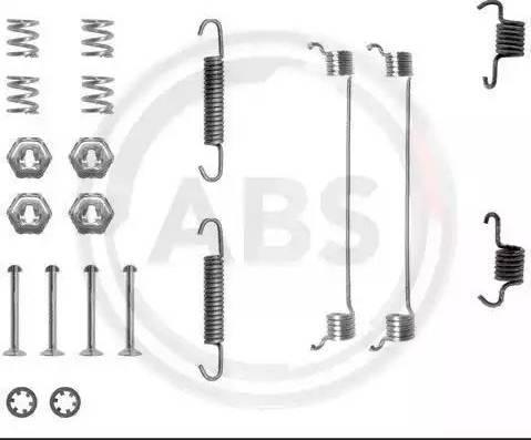 A.B.S. 0651Q - Lisakomplekt, Piduriklotsid multiparts.ee