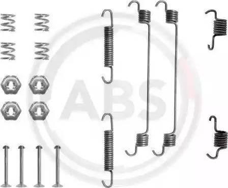 A.B.S. 0657Q - Lisakomplekt, Piduriklotsid multiparts.ee