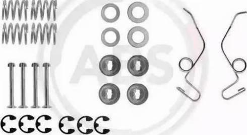 A.B.S. 0625Q - Lisakomplekt, Piduriklotsid multiparts.ee