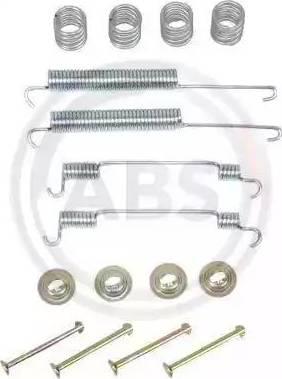 A.B.S. 0806Q - Lisakomplekt, Piduriklotsid multiparts.ee