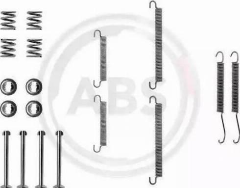 A.B.S. 0713Q - Lisakomplekt, seisupiduriklotsid multiparts.ee